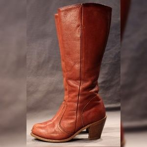 Vintage DEXTER Leather Boots, Lady's US 6, Western